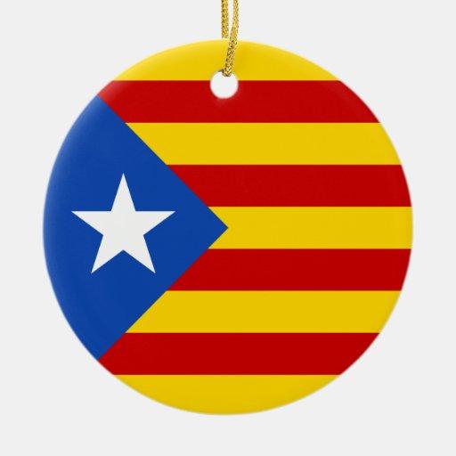 "Bandera catalana de la independencia de ""L'Estelad Adorno"