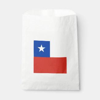 Bandera: Chile Bolsa De Papel
