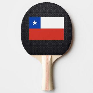 Bandera chilena pala de ping pong