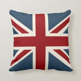 Bandera clásica de Union Jack Cojín Decorativo