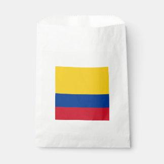 Bandera: Colombia Bolsa De Papel