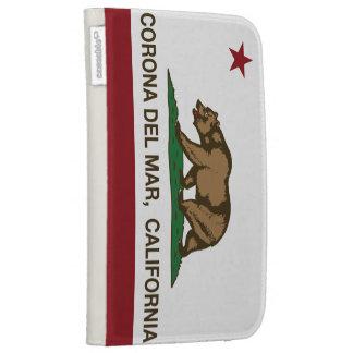 Bandera Corona del Mar de la república de Californ