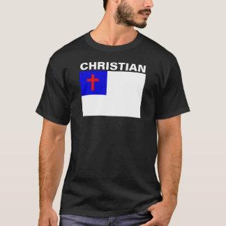 Bandera cristiana camiseta