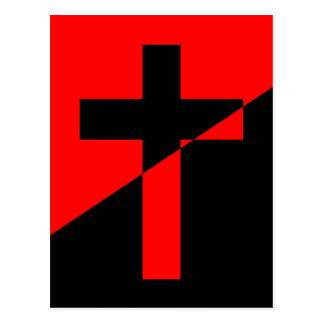 Bandera cristiana del cristianismo de la anarquía postal