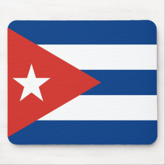 Bandera cubana alfombrilla de ratón