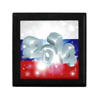 Bandera de 2014 rusos caja de regalo