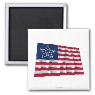 bandera de 33 estrellas, gran modelo de estrella iman para frigorífico
