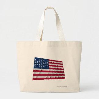 bandera de 33 estrellas, modelo de la guarnición d bolsa