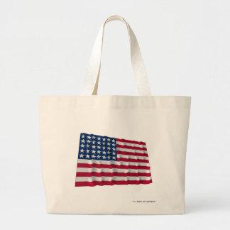 bandera de 35 estrellas bolsa de mano