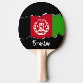 Bandera de Afganistán Pala De Ping Pong