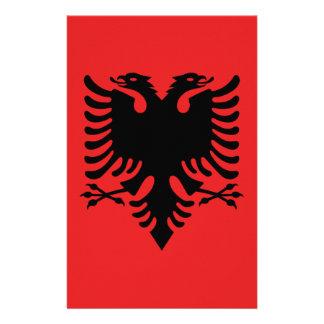 Bandera de Albania - Flamuri i Shqipërisë Papelería