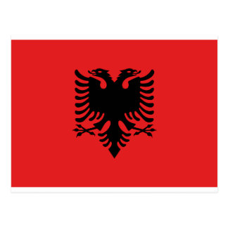 Bandera de Albania Postal