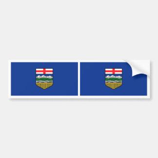 Bandera de Alberta Pegatina Para Coche