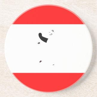 Bandera de Alemania-Berlín Posavasos