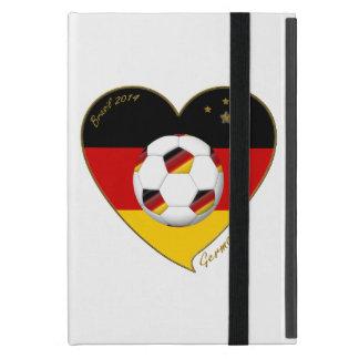 Bandera de ALEMANIA FÚTBOL de equipo nacional 2014 iPad Mini Carcasas