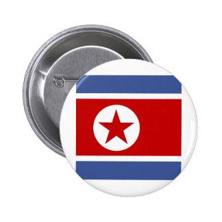 Bandera de alta calidad de Corea del Norte Pins