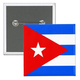 Bandera de alta calidad de Cuba Chapa Cuadrada