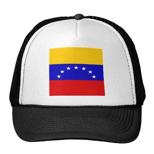 Bandera de alta calidad de Venezuela Gorro