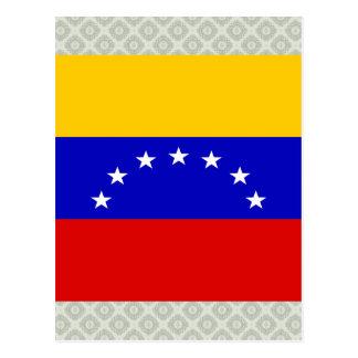 Bandera de alta calidad de Venezuela Tarjetas Postales