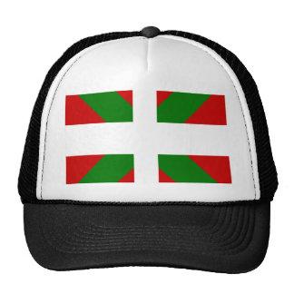 Bandera de alta calidad vasca gorras de camionero