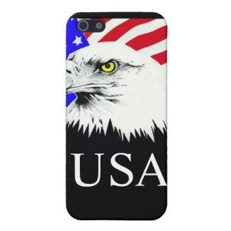 bandera de American Eagle los E.E.U.U. de la caja iPhone 5 Protectores
