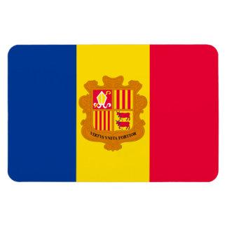 Bandera de Andorra Imán