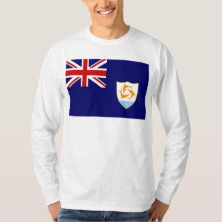 Bandera de Anguila Camiseta