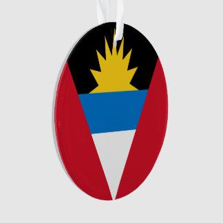 Bandera de Antigua y de Barbuda Adorno