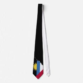 Bandera de Antigua y de Barbuda Corbata