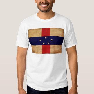Bandera de Antillas holandesas Camisetas