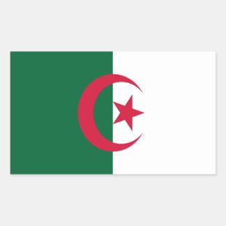 Bandera de Argelia Etiqueta