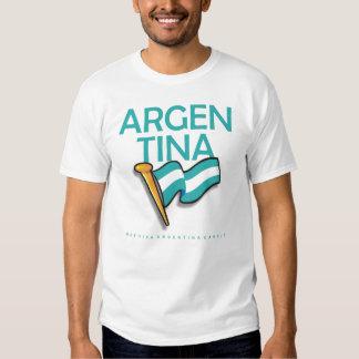 Bandera de Argentina 2 Camiseta
