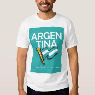 Bandera de Argentina Camiseta