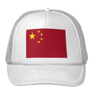 Bandera de Asia del chino de China Gorro