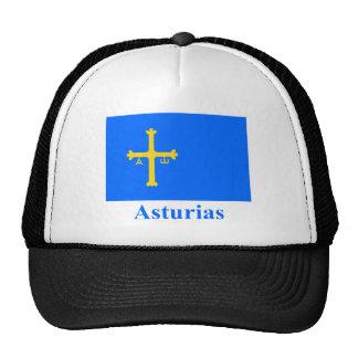 Bandera de Asturias con nombre Gorras