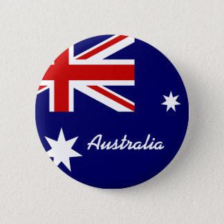 Bandera de Australia Chapa Redonda De 5 Cm