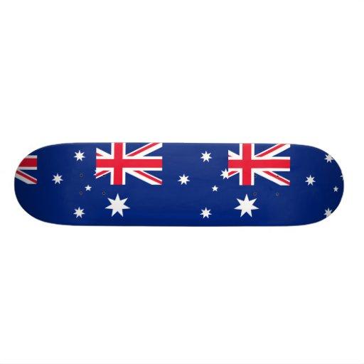 Bandera de Australia (convertida), Australia Tabla De Skate