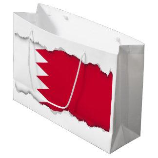Bandera de Bahrein Bolsa De Regalo Grande