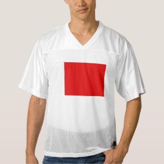 Bandera de Bahrein Camiseta De Fútbol Americano Para Hombre