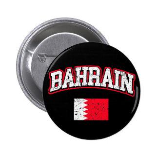 Bandera de Bahrein Chapa Redonda De 5 Cm