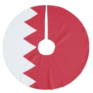 Bandera de Bahrein Falda Para El Árbol De Navidad
