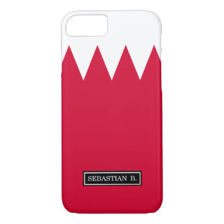 Bandera de Bahrein Funda iPhone 7