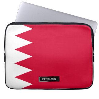 Bandera de Bahrein Funda Para Portátil
