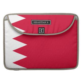 Bandera de Bahrein Fundas Para Macbooks