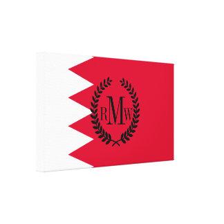 Bandera de Bahrein Impresión En Lienzo