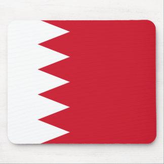 Bandera de Bahrein Mousepad Alfombrilla De Ratón