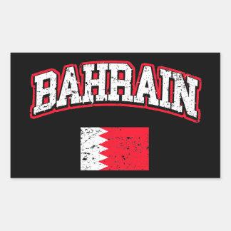 Bandera de Bahrein Pegatina Rectangular