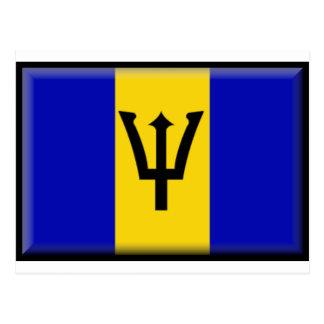 Bandera de Barbados Postal