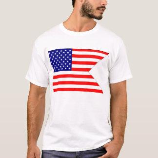Bandera de batalla americana camiseta