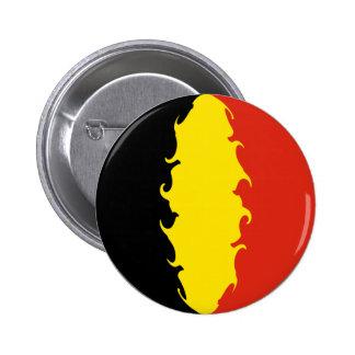 Bandera de Bélgica Chapa Redonda De 5 Cm